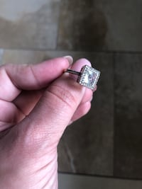 14k white gold with accent diamonds Headland, 36345
