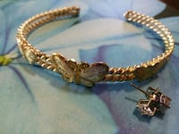 3 Butterflies Gold and silver tone size 7ish  Chico, 95926