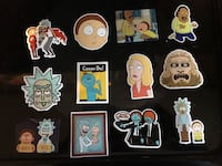 Rick and Morty Stickers Gaithersburg, 20877