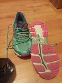 pair of green-and-pink Nike running shoes Mount Pearl, A1N 4V8