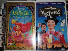 DISNEY *LIMITED/SPECIAL EDITION* VHS Tapes   $15 e