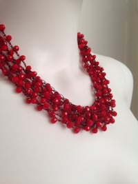 $45 New Cranberries Necklace