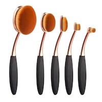 5 pcs brand new oval brushes