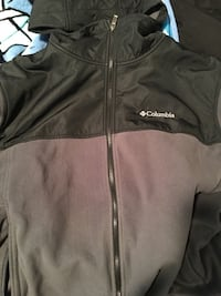 Grey and Black Columbia Jacket Pacific Grove, 93950