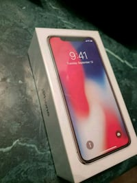 iPhone x 256gb brand new in box and receipt  536 km