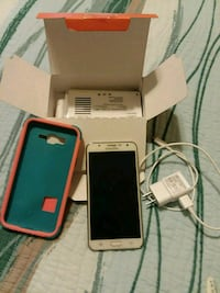 White  Samsung Galaxy J7 smartphone with box Murrells Inlet, 29576