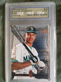 A.rod rookie 8.0 mint Brockton, 02301