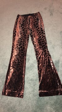 Printed velvet pants Pickering, L1V 1B5