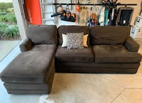 Brown Lazy boy sectional  Jacksonville, 32258