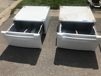Washer and Dryer storage drawers King, L0G 1T0