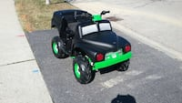 One of a kind  custom home built grave digger atv  this one was made for a good friend but I am willing to make another one of any power wheels body u like  Brantford, N3T 1H9
