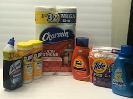 Laundry & cleaning products