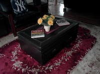 Coffee pop-up table & 2 end tables with storage space. ISLIP NY 11751 ISLIP