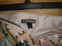Express Sequenced Mini Skirt, size XS - $25 Mississauga
