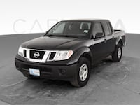 2014 Nissan Frontier Crew Cab pickup S Pickup 4D 5 ft Black <br Providence