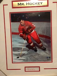 Signed Mr. Hockey Framed Picture WITH COE Toronto, M1N 3X6