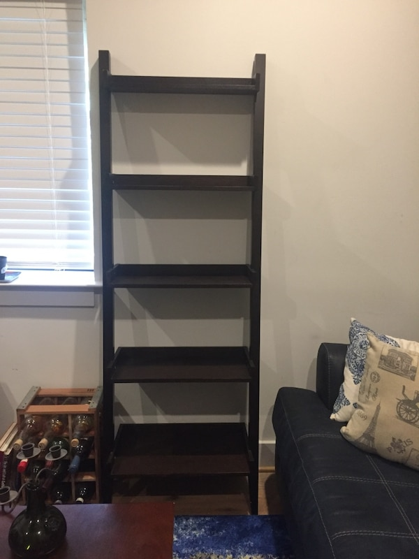 5-tier ladder bookcase