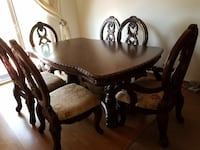 Dining table and chairs Lafayette, 80026
