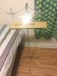 Stand for music sheet paper
