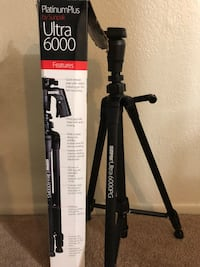 Sunpak PlatinumPlus Ultra 6000PG Tripod Medium Duty Fresno, 93704