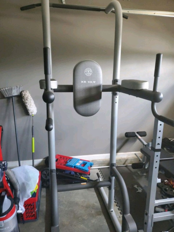 Xr 10 9 dip pull up push up abs station