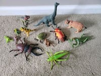 assorted bug and animal toys Virginia Beach, 23454