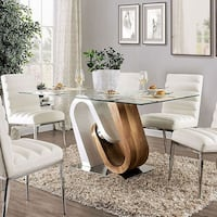 HIGH QUALITY GLASS 5PC DINING TABLE SET College Park