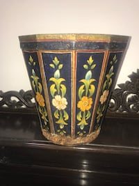 Wooden planter handmade hand painted in Mughal style  Potomac, 20854