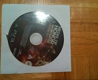 Medal of Honor Warfighter PS3 game disc Brampton, L6Y 5C7