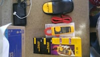 yellow and black Fluke multimeter with box Plano, 75023