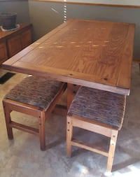Cargo Furniture kitchen table w/2 benches