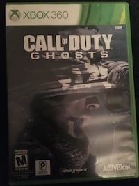 Call of duty ghosts xbox one game case Warwick, 02886