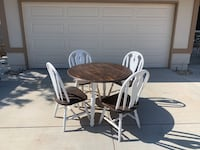 Rustic kitchen table & chairs Thousand Oaks, 91320