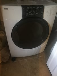 white and black front-load clothes washer Gardendale, 79758