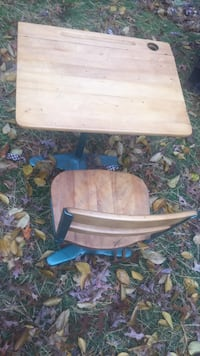 brown and black wooden picnic table Easton, 02356