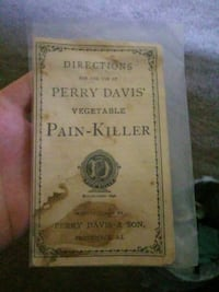 Very old pain killer paper Hagerstown, 21742