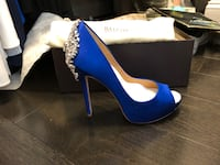 Blue Badgley Mischka Pumps - Size 6 1/2 Fairfax, 22031