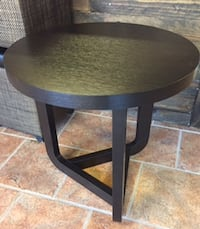 Circular end table  Ashburn
