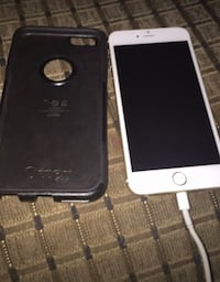 Silver iPhone 6 with black case Ashburn, 20147