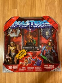 MASTERS OF THE UNIVERSE WOLF ARMOR HE-MAN & SNAKE ARMOR SKELETOR Union, 07083