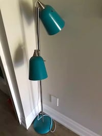 teal and gray floor lamp Richmond Hill, L4B 0C6