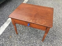 Wood End Table Towson, 21286