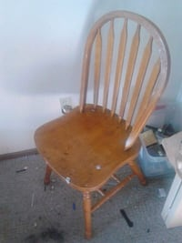 brown wooden windsor rocking chair Calgary, T3K 1M9