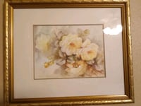 2 flower picture decor $25. For both New Orleans, 70128
