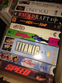 VHS tapes like new everything pictured make offers!