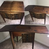 Vintage sewing machine table only 24 km