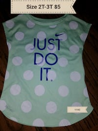 girls size 2t-3t Nike DRY-FIT  Erath, 70533