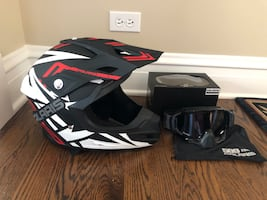 Polaris Force Helmet and Sinister X5 Goggles