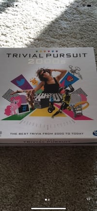 Trivial pursuit- like new