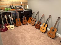 LEFTYS LEFTYS LEFTYS. Most likely the largest selection of Left-Handed acoustic, electric, classical, and two Ronrocos and Ukelele Arvada, 80004